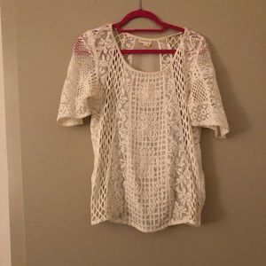 Anthropologie Top - Size M - Crocheted